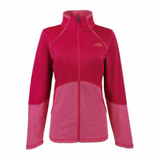 New Womens The North Face Cinder 100 Jacket Full Zip Black Plum Blue Grey