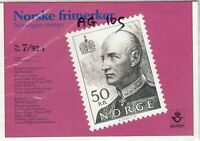 Norway 1992 50k Mint MNH Presentation Pack J4063