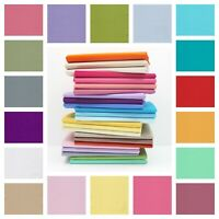 Plain 100% Cotton Fabric Material Quilting Fashion Craft Sheeting Metre