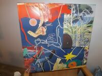 Tableau abstrait contemporain 60 x 50 cm original signé SOUM