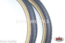 "Kenda K55 Freestyle 20"" x 1.75"" Skinwall Tyres Black - Sold In Pairs"