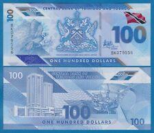 Trinidad and Tobago 100 Dollars P New 2019 UNC Polymer Low Ship! Combine FREE