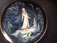 1989 Russian Legend  of the Snowmaiden SNEGUROCHKA Ltd Ed Plate