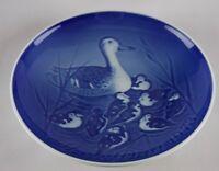 """Copenhagen-B&G Bing & Grondahl-1973 """"Mors Dag"""" Mothers Day Plate-Ducks-NEW IOB"""