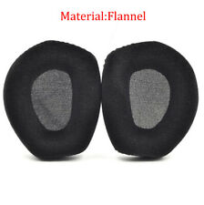 1Pair Black EarPads Replacement Cushions For Sennheiser HDR RS165 RS175 RS185