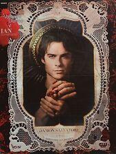 IAN SOMERHALDER - A2 Poster (XL - 42 x 55 cm) The Vampire Diaries Clippings NEU