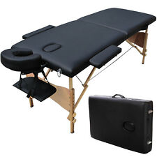 Super Stable Portable 2 Fold Massage Reiki Facial Table Bed Carrying bag