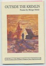 Margo SOLOD / Outside the Kremlin Poems First Edition 1996