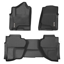 Oedro Floor Mats Liners Fit for 14-18 Chevy Silverado/Sierra Double/Extended Cab (Fits: Chevrolet)