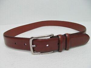 Baconi Nashville Brown Leather Belt Size Men's 32/80