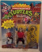 Teenage Mutant Ninja Turtles Wacky Action Slice 'N Dice Shredder 1990 MOC TMNT