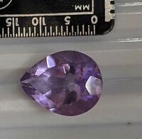 7.2 Carat Pear shape AMETHYST Gemstone (#7994)