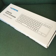 Ultra-Slim Mini Wireless Touchpad Keyboard All-in-One With Built-in Multi-Touch