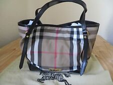 Brand New with Tags Burberry Bridle House Check Small Canterbury Tote Handbag MS
