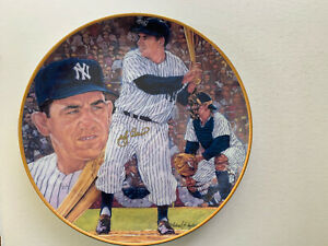 "1990 Gartlan New York Yankee HOF Catcher Yogi Berra Signed 10""Artist Proof Plate"