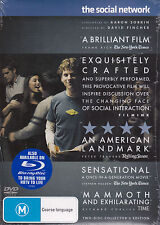 The Social Network - DVD (PAL Region 4 Brand New Sealed)
