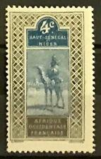 Upper Senegal & Niger #20 MH Camel Rider