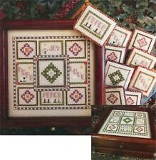 15% Off Rosewood Manor Counted X-stitch chart - Advent Box w/ornaments
