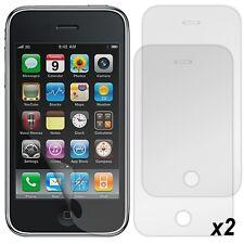 Pack 2 Films Protection d'Ecran pour Apple iPhone 3G/3GS