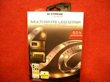 XTREME HOME THEATER  USB POWERED MULTI-WHITE LED STRIP 6.5 WITH REMOTE NIB