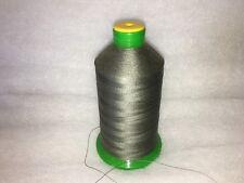 heavy duty sewing thread 1 roll bonded nylon no 30  grey/green