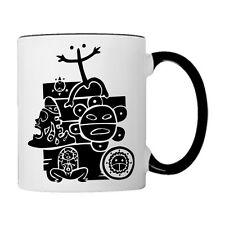 Puerto Rico Mix Taino Symbols,  11oz. Coffee Mug
