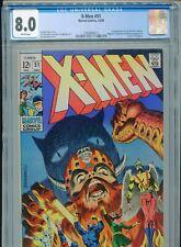1968 MARVEL X-MEN #51 JIM STERANKO 1ST ERIK THE RED ORIGIN BEAST CGC 8.0 WHITE