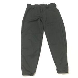 New Women Softball Pants Baseball Fast Pitch Black Solid Augusta Sportswear L