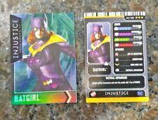 Injustice Dave & AND Busters Holofoil Hologram Card Foil 55 BATGIRL