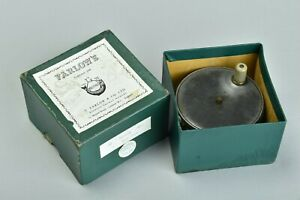 Anglers' Fine Old Boxed Farlows of London Alloy Salmon Fishing Reel. CGW