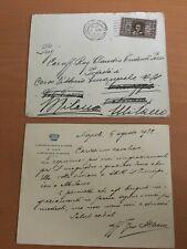 Lettera della Casa di Sua Altezza Reale il Principe di Piemonte