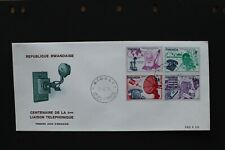 RWANDA 1976 FDC the 100th anniv. of the telephone on two covers