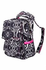 Ju-Ju-Be PackaBe Diaper Bag Convertible Backpack Shoulder Messenger Shadow Waltz