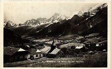 CPA  Charmonix- La Vallée vue des Houches   (439833)