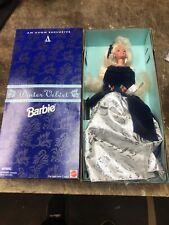 An Avon Exclusive Special Edition Winter Velvet Barbie New
