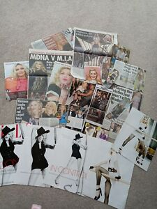 Madonna Cuttings/clippings/newspaper/magazine Articles