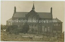 Pyebank School Sheffield 1905 Real Photo Postcard, C016