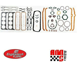 Full Engine Performance Gasket Set for Chevrolet 5.7L 350 383 w/ 2 Pc Rear Seal