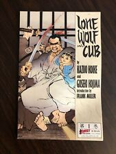 Lone Wolf and Cub #1 (First, 1987) 3rd Print (VF/NM) RARE