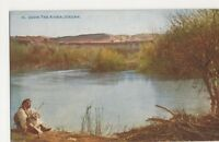 Palestine, The River Jordan Postcard, B215