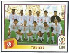 PANINI KOREA/JAPAN WORLD CUP 2002- #570-TUNISIE-TUNISIA TEAM PHOTO