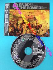 CD Singolo Snap!vs.Motivo The Power(Of Bhangra) 9809404 no mc lp vhs dvd(S26)