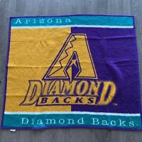 "Biederlack Arizona Diamondbacks Major League Baseball Throw Blanket 48"" x 54"""