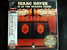 Isaac Hayes - Live At The Sahara Tahoe Japan SHM-2CD Mini LP New UCCO-9517/8
