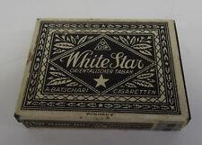 Antike Zigaretten Dose White Star Cigaretten ABC A. Batschari Tabak Blechdose