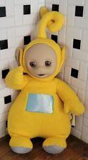 "1998 Vintage 15"" Teletubbie Talking Laa Laa Plush LaLa Yellow Doll Tested Works"