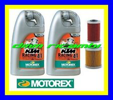 Kit Tagliando KTM 690 DUKE LC4 SMR SMC + Filtri Olio MOTOREX Racing 20W/60