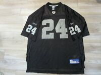 Charles Woodson #24 Las Vegas Raiders NFL Reebok Jersey XL mens