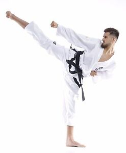 TKD Master Dobok TOPTEN ITF Premium Gold Edition, Taekwon-Do Anzug, S-XXL