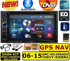 2006-2015 CHEVY GMC BUICK PONTIAC HUMMER NAV GPS BLUETOOTH CD/DVD Car Stereo